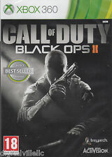 Call of Duty Black Ops 2 II Xbox 360 with Zombies  Brand New Factory Sealed