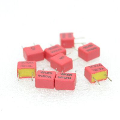 10pcs WIMA FKP2 100pF/100V(0.1nF 101)7.2*4.5*6mm Film Capacitor(5798