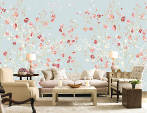 3D Sweet Flower Tree 4 Wall Paper Murals Wall Print Wall Wallpaper Mural AU Kyra