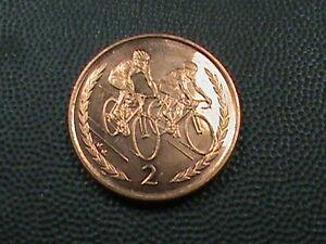Isle-von-Mann-2-Pence-1999-ein-ein-UNC-Maximum-in-USA