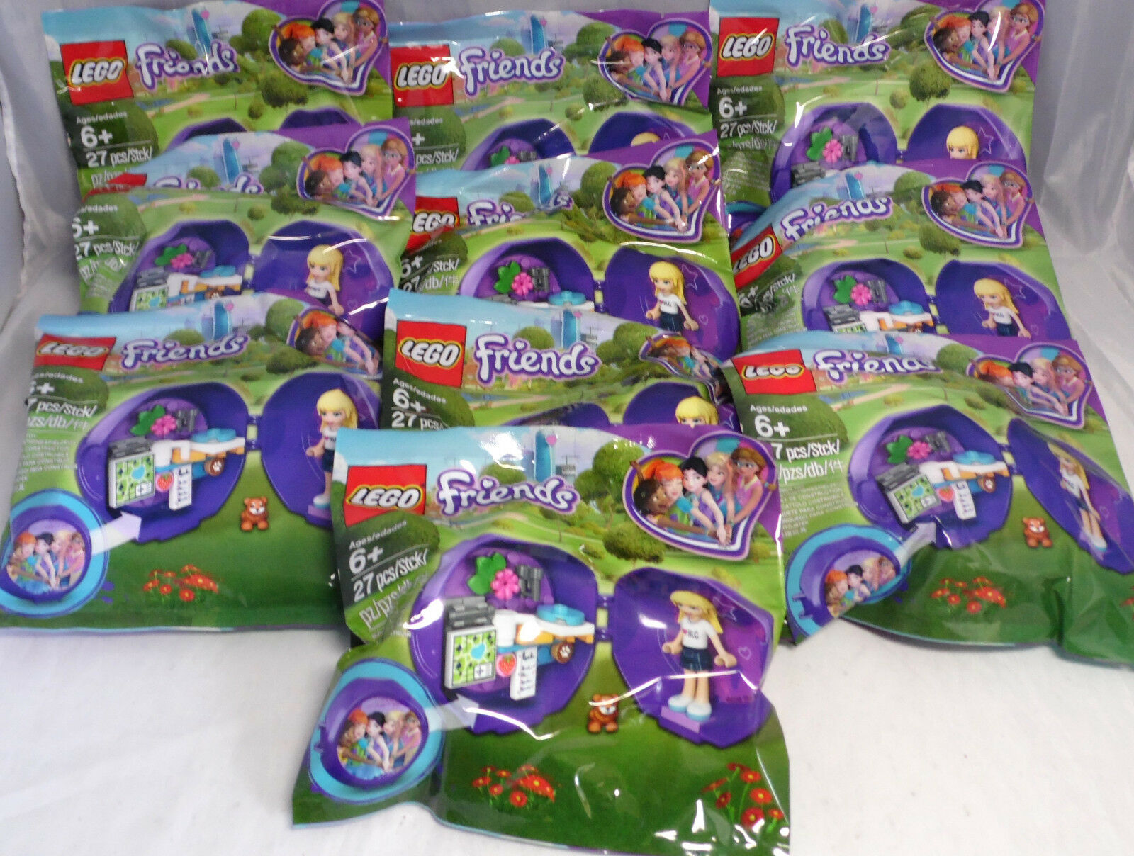 LEGO Friends 10 Promo Promo Promo Polybag 5005236 Club House Pod Stephanie Hamster Tasse NEU d03484