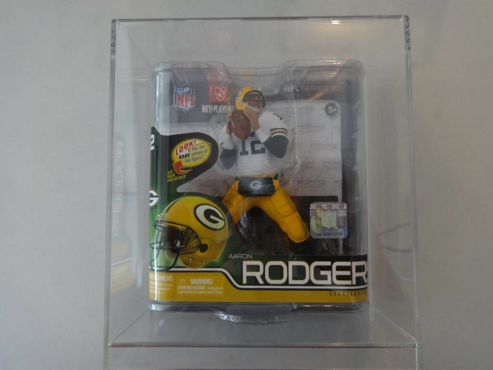 Mcfarlane nfl footbtutti cifra AARON RODGERS verde bay packers series 30 wht