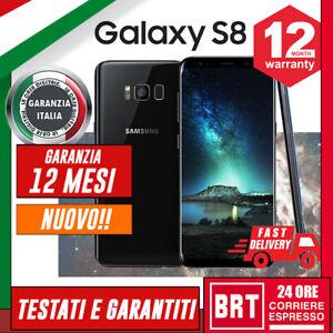 NUOVO-SMARTPHONE-SAMSUNG-GALAXY-S8-64GB-SM-G950-12-MESI-GARANZIA-G950F-24H