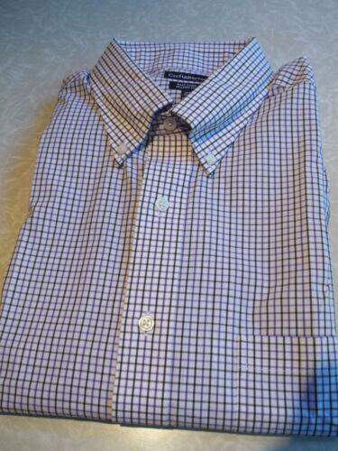 NWT $45.MSRP Mens Croft /& Barrow Easy Care Classic Fit Cotton Blend Dress Shirt