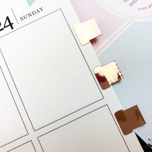 Pegatinas Etiqueta en Blanco Rosa Oro frustrado
