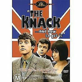 The Knack And How To Get DVD New and Sealed DVD Michael Crawford    E2