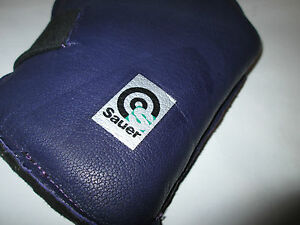 Sauer-Fullbore-Prone-Leather-mitt-Glove-Small-Aqua-Purple