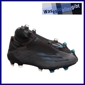 SCHNÄPPCHEN! adidas X Ghosted+ FG \ schwarz/blau \ Gr.: 43 1/3 \ #R 22061