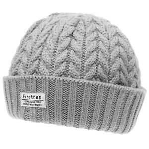 Mens-Firetrap-Fisherman-Hat-Beanie-Warm-New