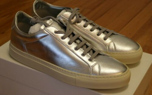 9 11 12 13 New Common Projects Achilles Retro Low Silver Size 42 44 45 46