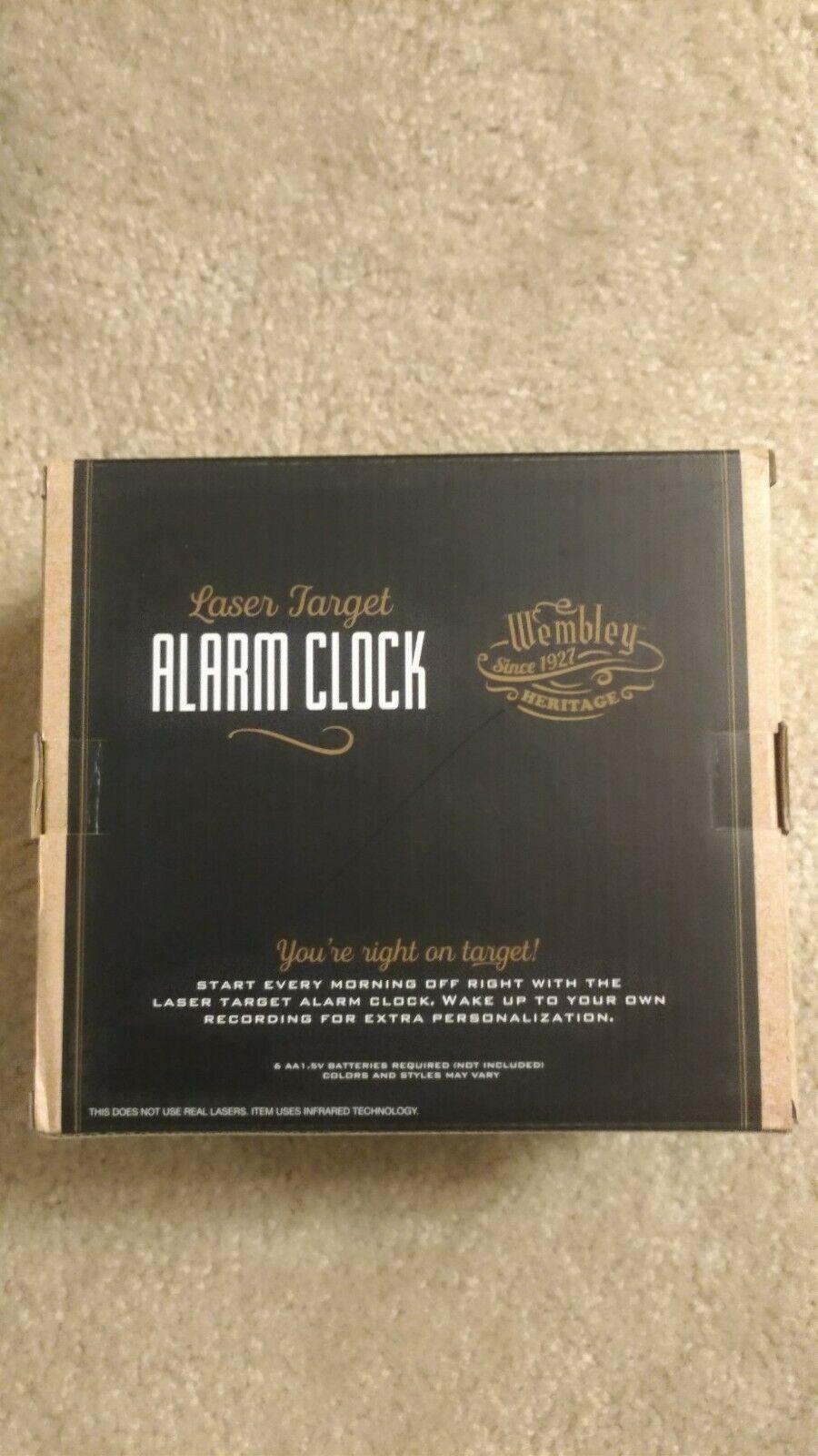 Wembley Game Target Alarm Clock