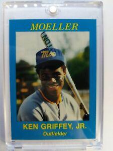 Rare-1987-87-Moeller-High-School-Ken-Griffey-Jr-Rookie-RC-AAMER-Sports-Promo
