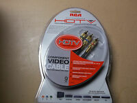 Rca 9 Ft High Performance Hdtv Component Video Cable (hd9dc) Lot Of 25