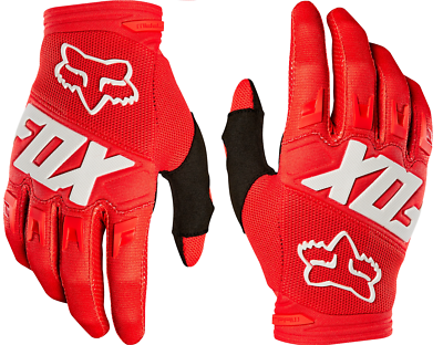Fox Racing 2019 Youth Dirtpaw Race Gloves Black Motorcycle Off Road MX 22753-001