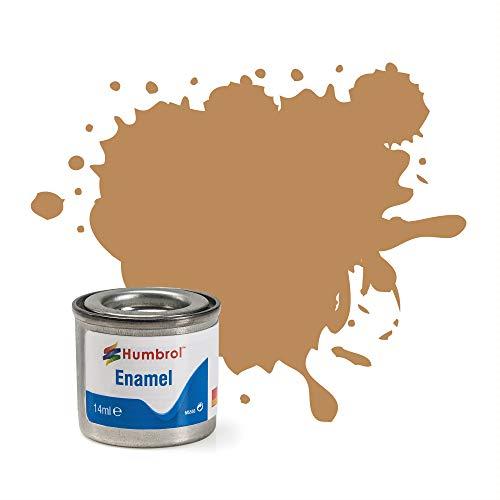 Humbrol 14ml No. 1 Tinlet Enamel Paint 225 Middle Stone Matt