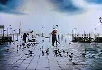 San Marco Poster - Venice Italy Scenic Full Size 24x36 Print - Romantic Kiss