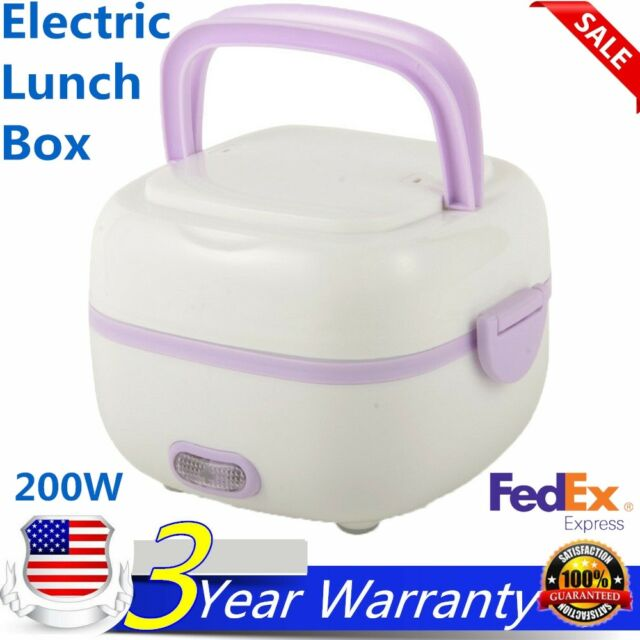 1L Fashion Mini Rice Cooker Portable Heat preservation lunch box cooking steam