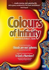 COLOURS OF INFINITY    UK DVD    NEW/SEALED PINK FLOYD DAVE GILMOUR