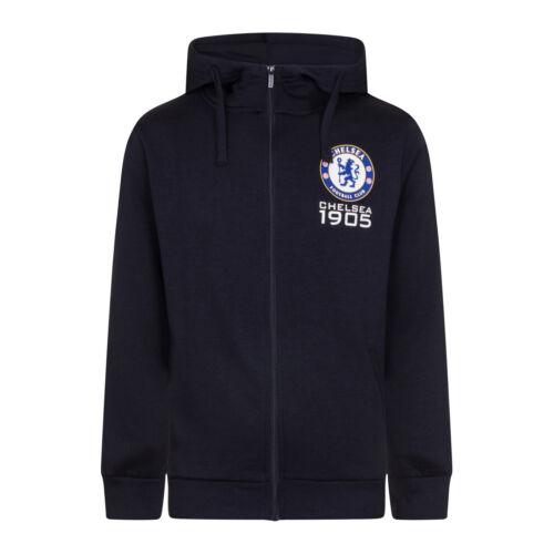 Chelsea FC Officiel Football Cadeau Homme Polaire Zip Hoody