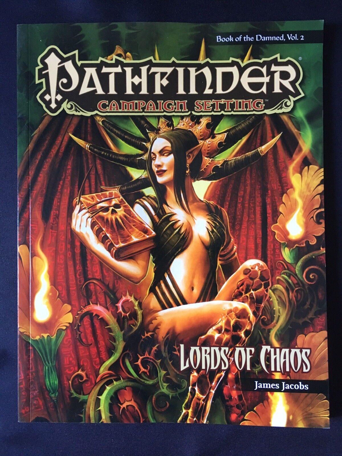 SIGNORI DI CAOS-Pathfinder-LIBRO DEI DANNATI volume 2-James Jacobs