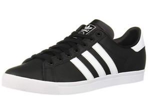 New-in-Box-Adidas-Coast-Star-Black-White-Size-10-US-men-039-s-11-US-women-039-s