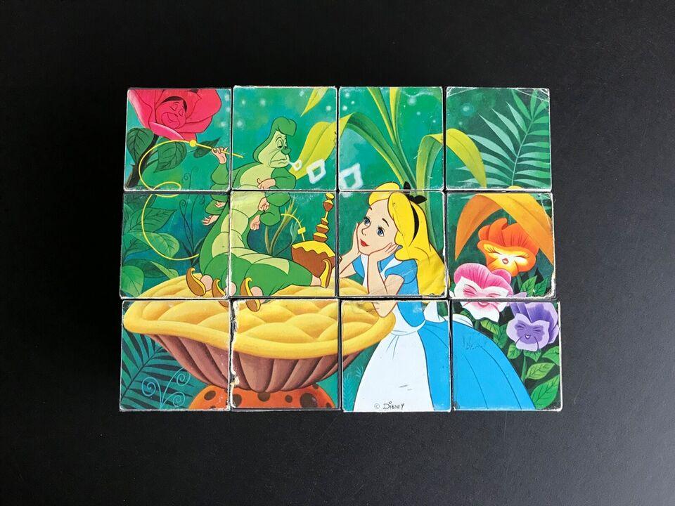 Walt Disney, Klodspuslespil af plast, puslespil