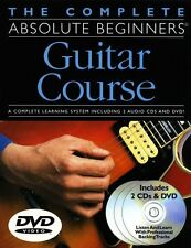 Complete Absolute Beginners Guitar Course Pack Learn to Play Book & CD DVD