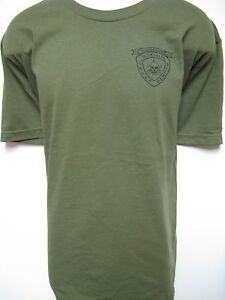 4TH ANGLICO T-SHIRT// MILITARY// USMC// NEW// BLACK// THICK T-SHIRT//  VETERAN//   NEW
