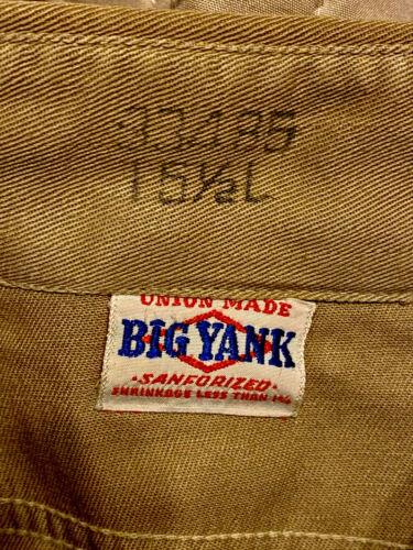"40S-50S""BIG YANK""WORK SHIRT! MINT! MEDIUM!"