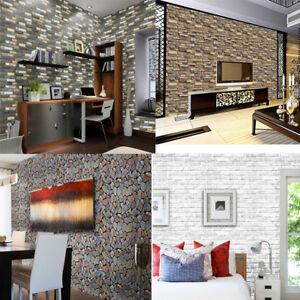 Papel-de-pared-de-piedra-ladrillo-3D-Efecto-Rustico-Auto-Adhesivo-Pared-Adhesivo-Decoracion-Hogar