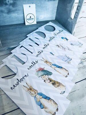 Baby Shower Gift Peter Rabbit Wardrobe Dividers// Closet Dividers