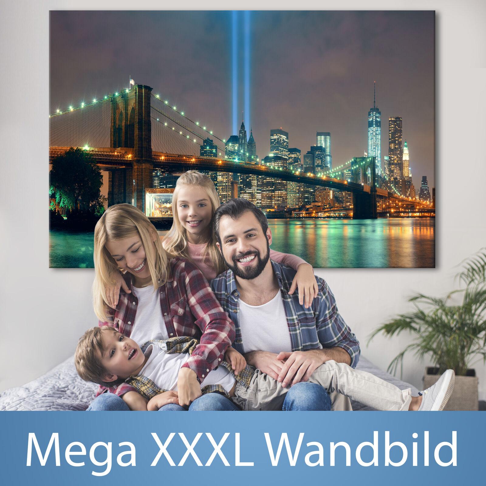 NEW YORK XXXL Wandbild Riesenformat Leinwandbild DIY Canvas Bild d-B-0088-ak-a