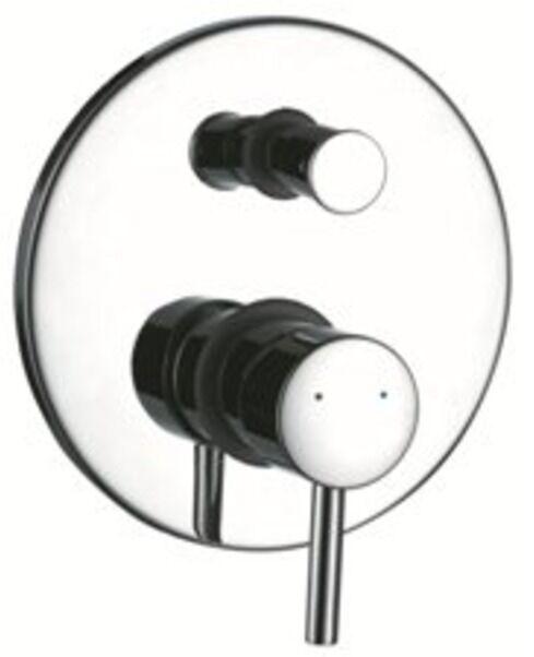 Bad Unterputz Armatur Design Einhebelmischer Rondo mit Umsteller, rund