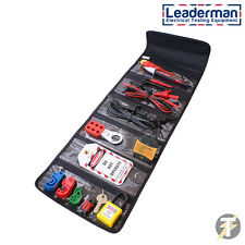 Leaderman Lock and Lead, Lock out, Voltage Tester Kit LMLL-K1 with socket tester