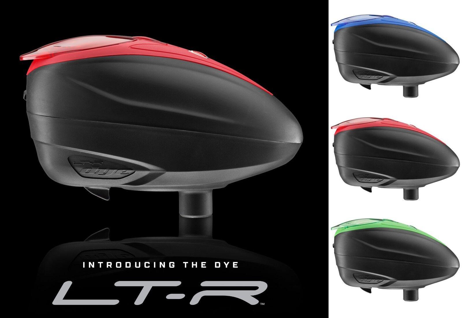 Dye Rotor Loader LT-R colors Paintball PaintNoMore Hopper Cal 68 E-Hopper