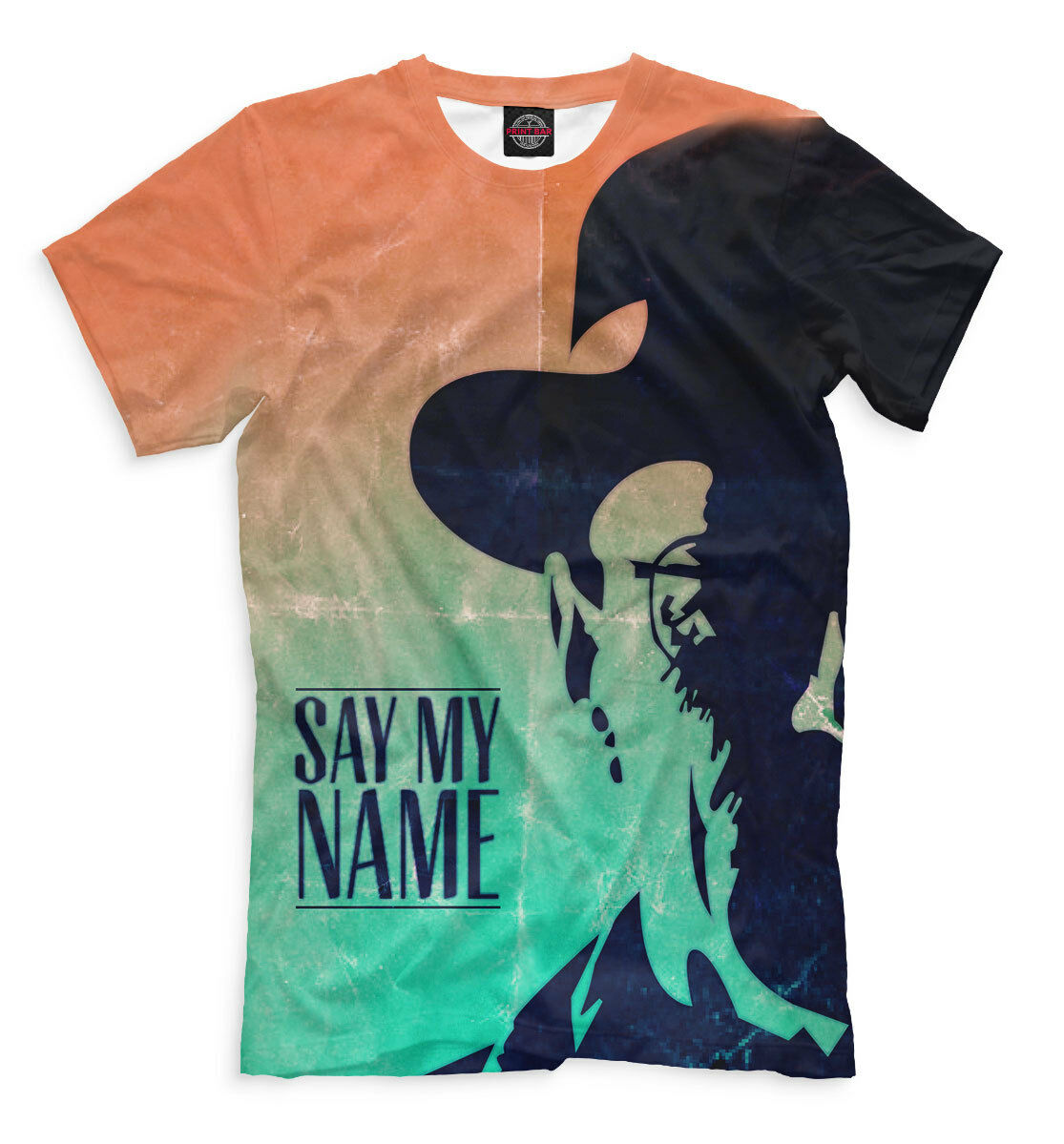 Breaking Bad Heisenberg fans T-shirt 3D New Sportsweawear color Full print PB