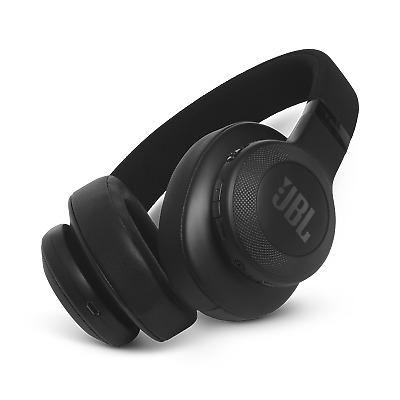 JBL E55BT Wireless Bluetooth Over-Ear Headphones - Black