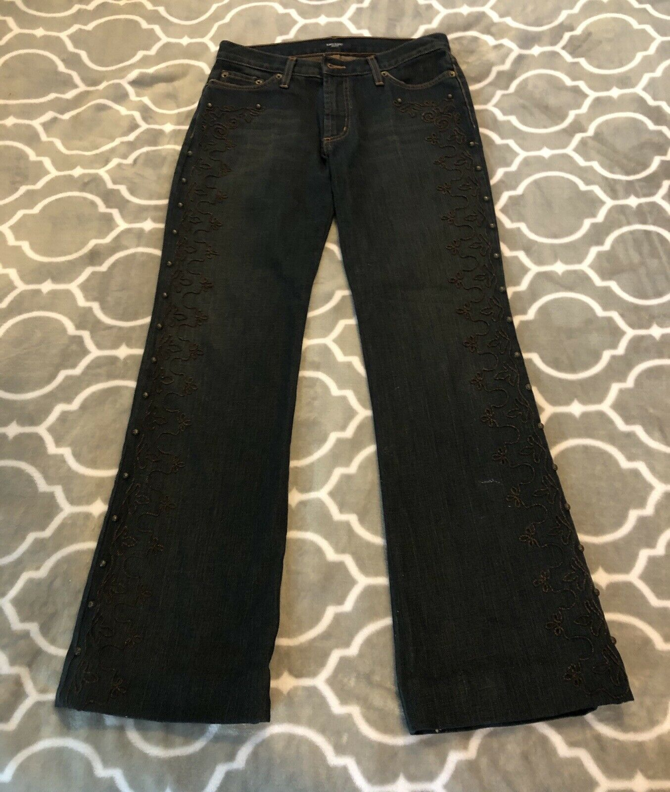 EXCLUSIVE    Karen Kane Size 8 Women's bluee Jeans Great Condition