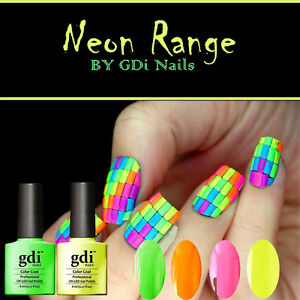 Image Is Loading Gdi Nails UK NEON GLOW IN THE DARK