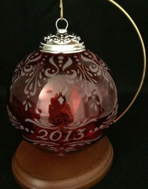 Hallmark 2013 Christmas Commemorative 1st Series Red ...