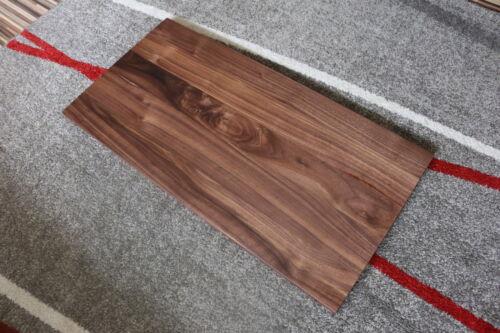 Tischplatte Platte Nussbaum Massiv Holz NEU Tisch Leimholz Türelement Schublade