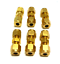 """Details about  /NEW LOT OF 6 SWAGELOK 1//4/"""" COUPLING FITTING  BRASS"""