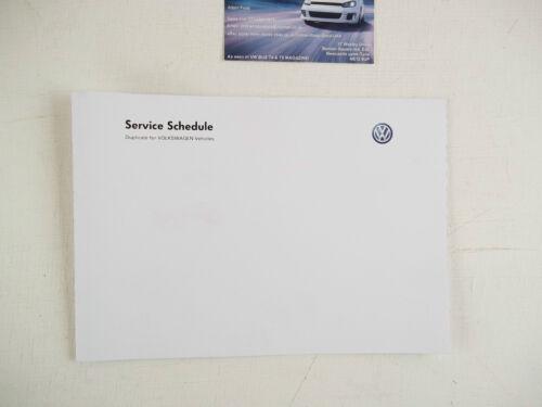 toimitilaa.fi GENUINE VW VOLKSWAGEN SERVICE BOOK / MAINTENANCE ...