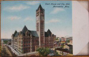1905-PC-Court-House-City-Hall-Minneapolis-Minnesota-MN