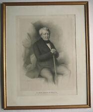 De Polignac. Le Comte Héracle De Polignac, Portrait encadré.