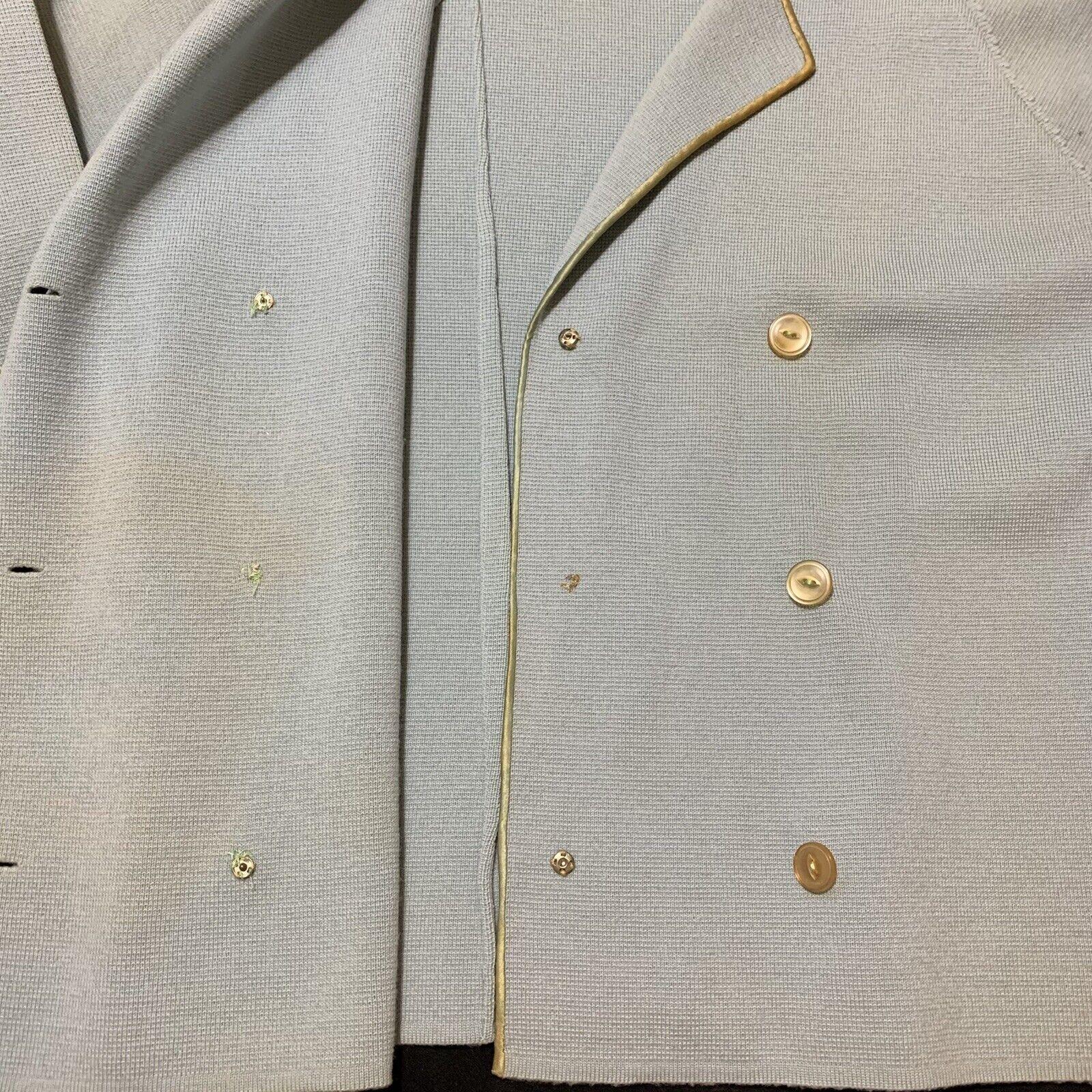 Vintage Coltalia Italy Wool Open Blazer Skirt Sui… - image 7