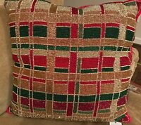Pier 1 Imports Beaded Pillow This Auction Is For One Big Pillow