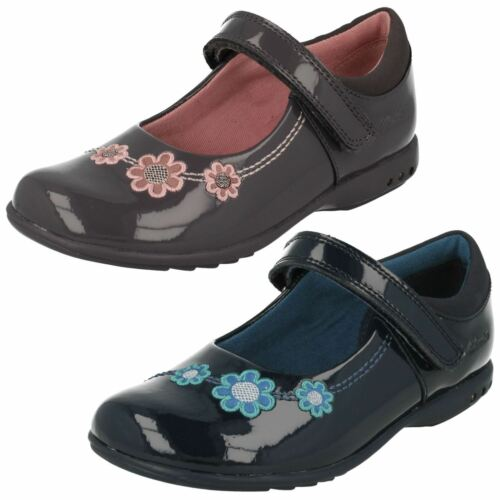 Para Lona Oferta Zapatos Charol Clarks Niña Ocasionales 'trixiwhizz' BBxfXr