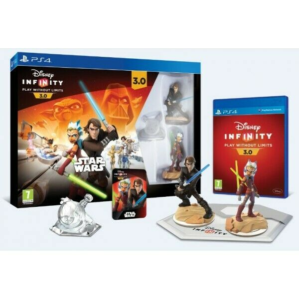 PS4 DISNEY INFINITY 3.0 STAR WARS STARTER PACK - BRAND NEW - DELIVERY IN 2 DAYS