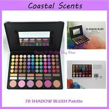 NEW Coastal Scents 78-Color Eye SHADOW & BLUSH Palette FREE SHIPPING Makeup BNIB